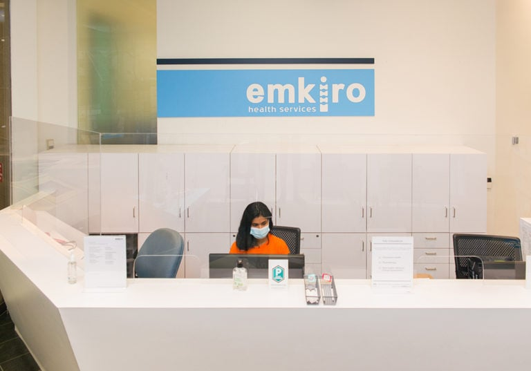 emkiro reception desk top view lg