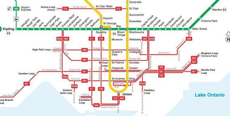 transit map with emkiro location marker